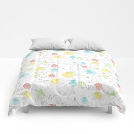 estampado carrusel Comforters