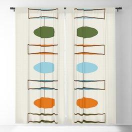 Mid-Century Modern Art 1.2 Blackout Curtain