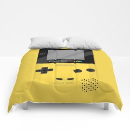 Gameboy Color - Yellow Comforters