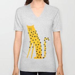 Speedy Cheetah Unisex V-Neck
