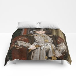 Portrait of Henry VIII - After Hans Holbien the Younger Comforters