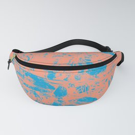Abstract Marina Butterum Fanny Pack