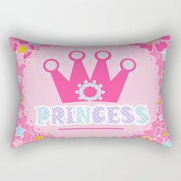 """For the little Princess. From the series """"Gifts for kids"""" . Rectangular Pillow"""