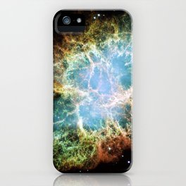 Hubble Telescope: Crab Nebula iPhone Case
