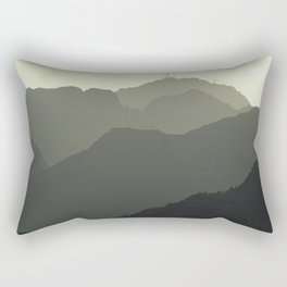 MOUNTAINS SILHOUETTE Rectangular Pillow