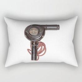 Retro Vintage Bakelite hair dryer Rectangular Pillow