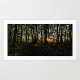 HDR Sunrise IV Art Print