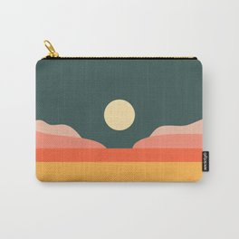 Geometric Landscape 14 Carry-All Pouch