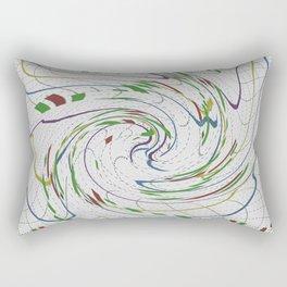 Abstract Forex Rectangular Pillow