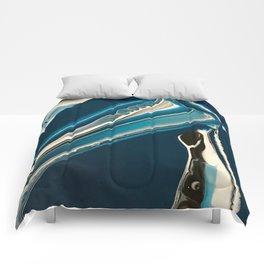 blue river Comforters
