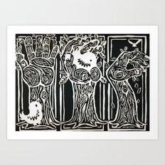 Nesting Ground Art Print