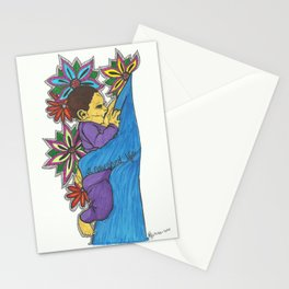 A nourished life-fly feeding Stationery Cards