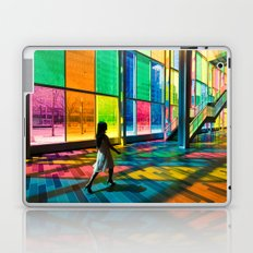 Stepping into a rainbow Laptop & iPad Skin