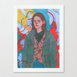 128 Canvas Print