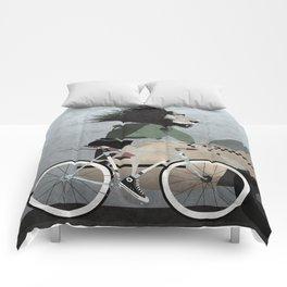 Alleycat Races Comforters