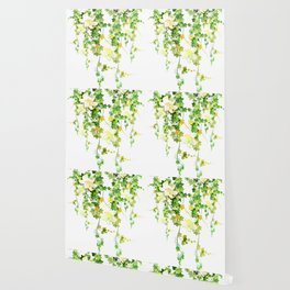 Watercolor Ivy Wallpaper