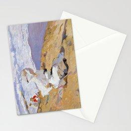 Joaquin Sorolla y Bastida - Capturing the moment, 1906 Stationery Cards