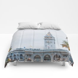 Port of San Francisco Comforters
