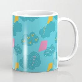kites - blue Coffee Mug