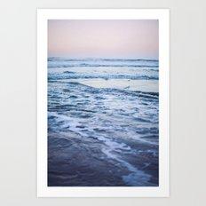Pacific Ocean Waves Art Print