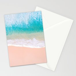 Ocean in Millennial Pink Stationery Cards
