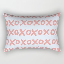 Tic Tac Toe (XOXO) Rectangular Pillow