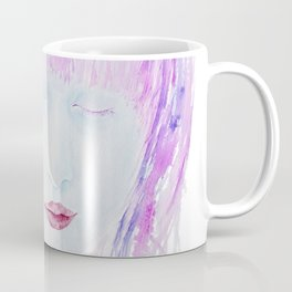 Eyes closed Coffee Mug