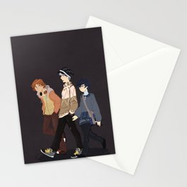 magician+fool+fortune Stationery Cards