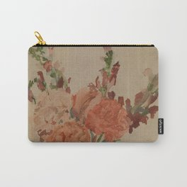 An Abundence in a Bouquet Carry-All Pouch