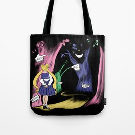 Lost in Wonderland  Tote Bag