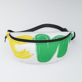 no problem for me always stay positive have fun Fanny Pack
