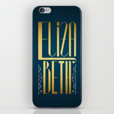 Elizabeth iPhone & iPod Skin
