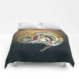 Golden Love Comforters