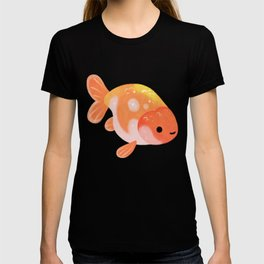 Ranchu and Forsythias T-shirt