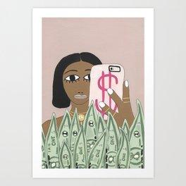 equal pay day Art Print