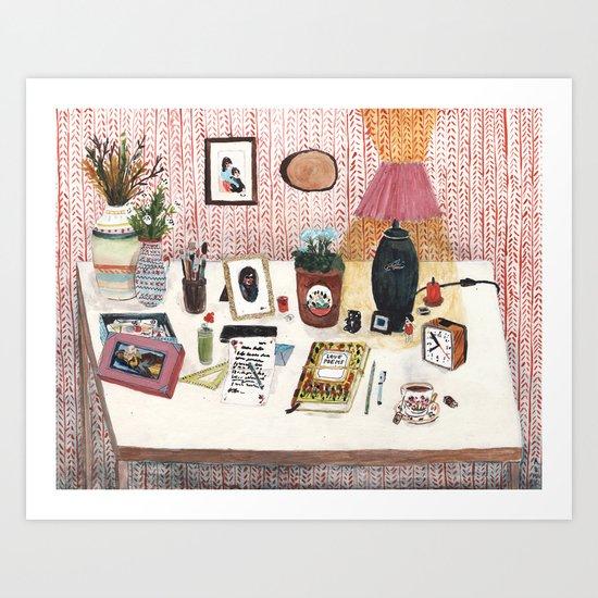 Still Life II  - Desk Art Print