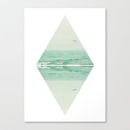 Parallel Waves Canvas Print