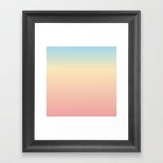 Pillow V Framed Art Print