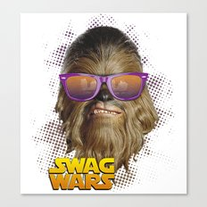Chewbacca Swag Canvas Print