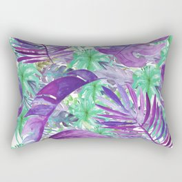 leaves and flowers Rectangular Pillow