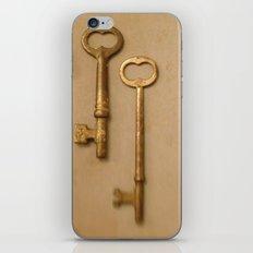 Skeleton Keys iPhone & iPod Skin