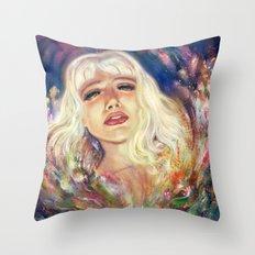 Fading Away Throw Pillow