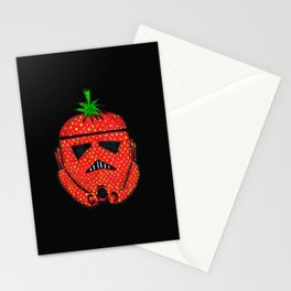Strawberry Stormptrooper Stationery Cards