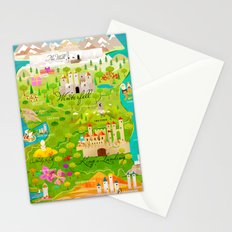 A Map of Ice and Fire Stationery Cards