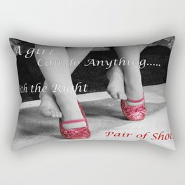 The right Shoes Rectangular Pillow