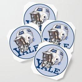Yale Bulldogs Bucket Helmet Coaster