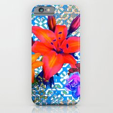 old flowers iPhone 6s Slim Case