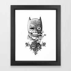 World Finest Series. The Bat.  Framed Art Print
