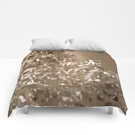Gold Leaf Comforters