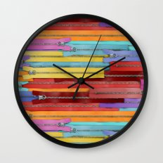 Zippers! Wall Clock